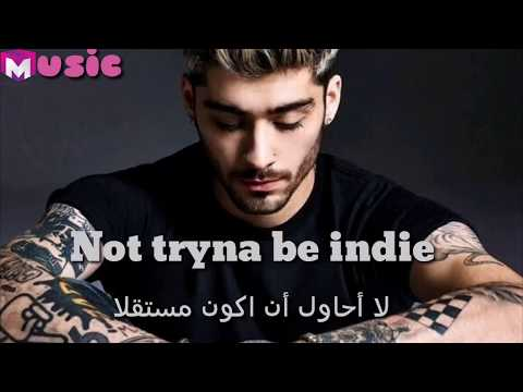 Dusk Till Dawn Ft Sia -Zayn Malik #lyrics #مترجم بالعربي