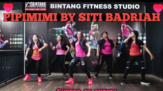 Download lagu PIPI MIMI BY SITI BADRIAH / ZUMBA PINK AT BINTANG FITNESS
