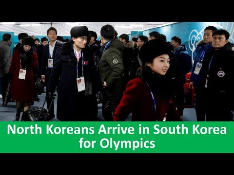 Learn English with VOA News - North Koreans Arrive in South Korea for Olympics