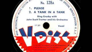 V-Disc 128  Bing Crosby, John Scott Trotter, The Charioteers