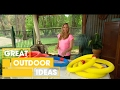 DIY Pool Noodle Projects For Kids | Outdoor | Great Home Ideas