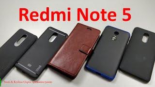[Part 1] Best Accessories for Xiaomi Redmi Note 5 ! (Back Case & Cover)