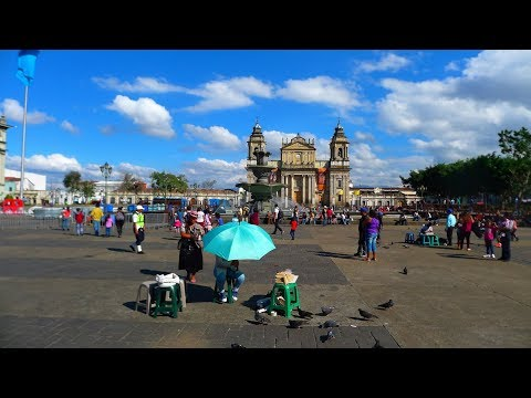 walking in Guatemala city (Guatemala)