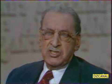 Algerie FERHAT ABBAS  interviweu