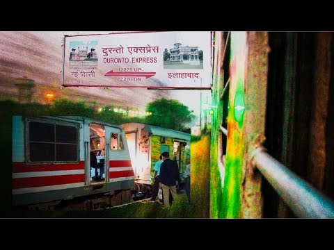 Onboard ALLAHABAD DURANTO :120 kmph High Speed Overtakes & Full Journey !!