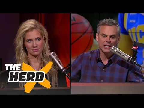 Kristine Leahy and Colin Cowherd react to LaVar Ball's May 17th interview   THE HERD