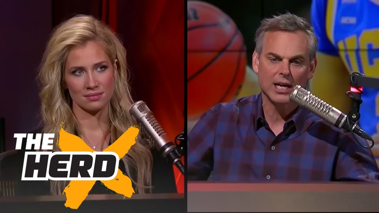 Joy Taylor poised to succeed Kristine Leahy on 'The Herd with Colin