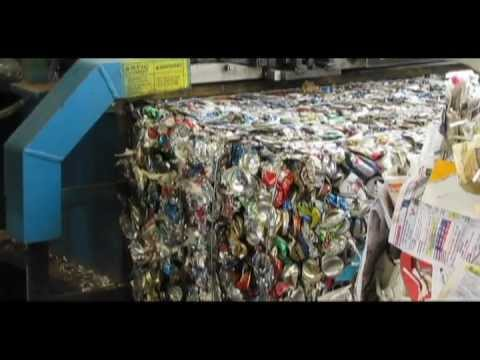 Freedom Recycling Center Tour for Clarkdale Representatives