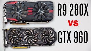 Gigabyte GTX 960 Vs Asus R9 280X - Gaming Performance Comparison