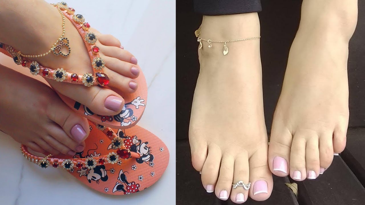 New stylish foot jewelry, footwear & feet outfit ideas 2019 1