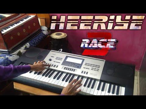 Heeriye - Race 3 | Instrumental | Keyboard Cover | The Kamlesh