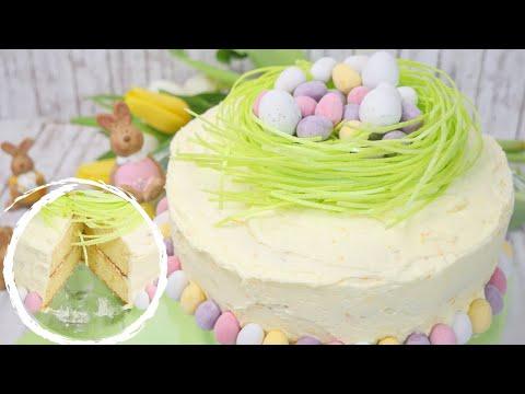 Oster Orangen Torte I Easter Orange Cake