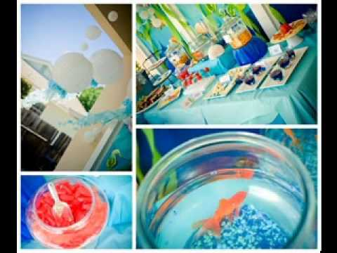 Under The Sea Party Decorations Ideas Youtube