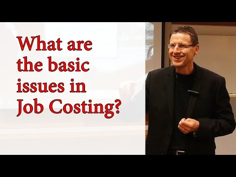 CPA - Job Costing - Part 1