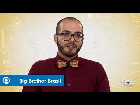 BBB18: Mahmoud é sexólogo, de RO, e tem 27 anos
