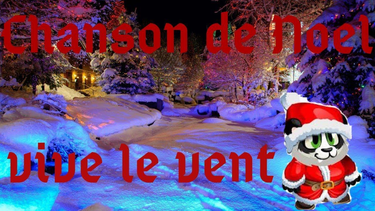 Chanson De Noel Vive Le Vent Panda Version Youtube