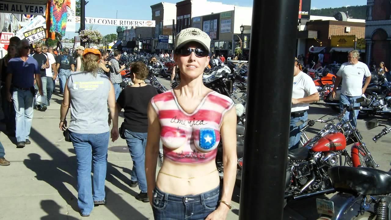 image Naked daytona bike week 2015