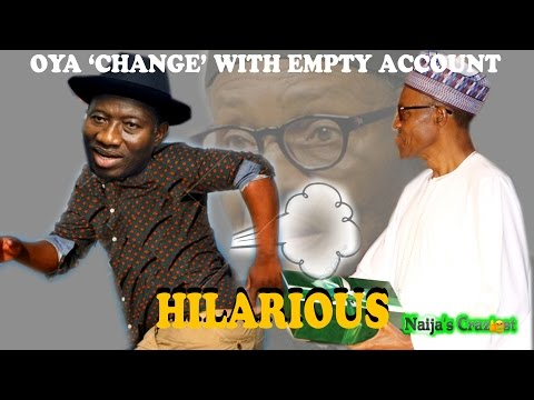 Inauguration- Goodluck Jonathan Hands Over Empty Treasury To Buhari Then Runs To Otuoke -Hilarious