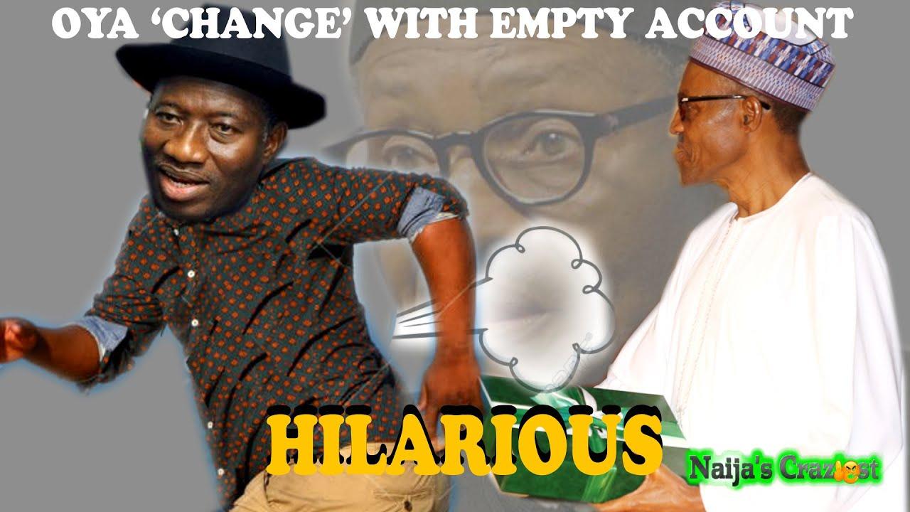 Download Inauguration- Goodluck Jonathan Hands Over Empty Treasury To Buhari Then Runs To Otuoke -Hilarious