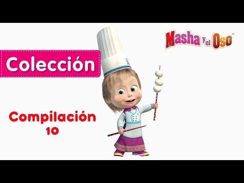 Masha y el Oso - Compilación 10 ⚡ Dibujos Animados en Español!