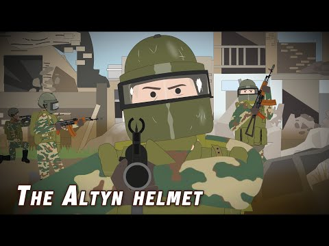 The Altyn Helmet (Armored Spetsnaz Soldiers)