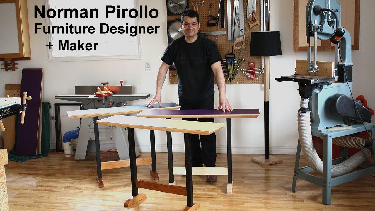 Norman Pirollo | Furniture Designer + Maker