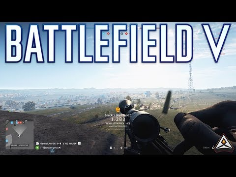 Only in Battlefield Sniping Moments!  - Battlefield 5 Top Plays thumbnail