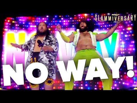 NO WAY Makes Shocking Debut at Slammiversary!   Slammiversary 2021 Highlights