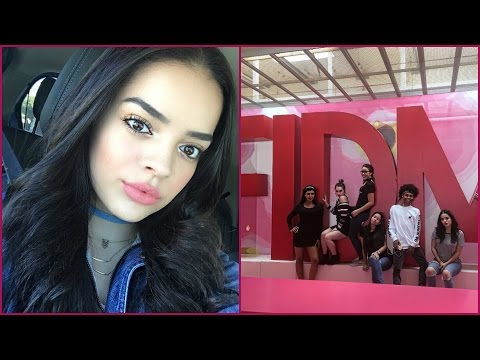 Follow Me Around Vlog | FIDM Open House, Speaking about my YouTube & Maybelline | Jackieflowers