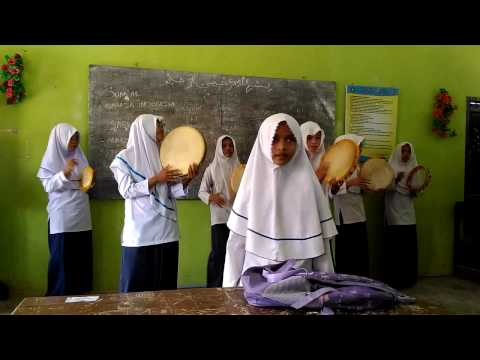 Latihan Nasyid MTs Al Ikhlas tanah Terban