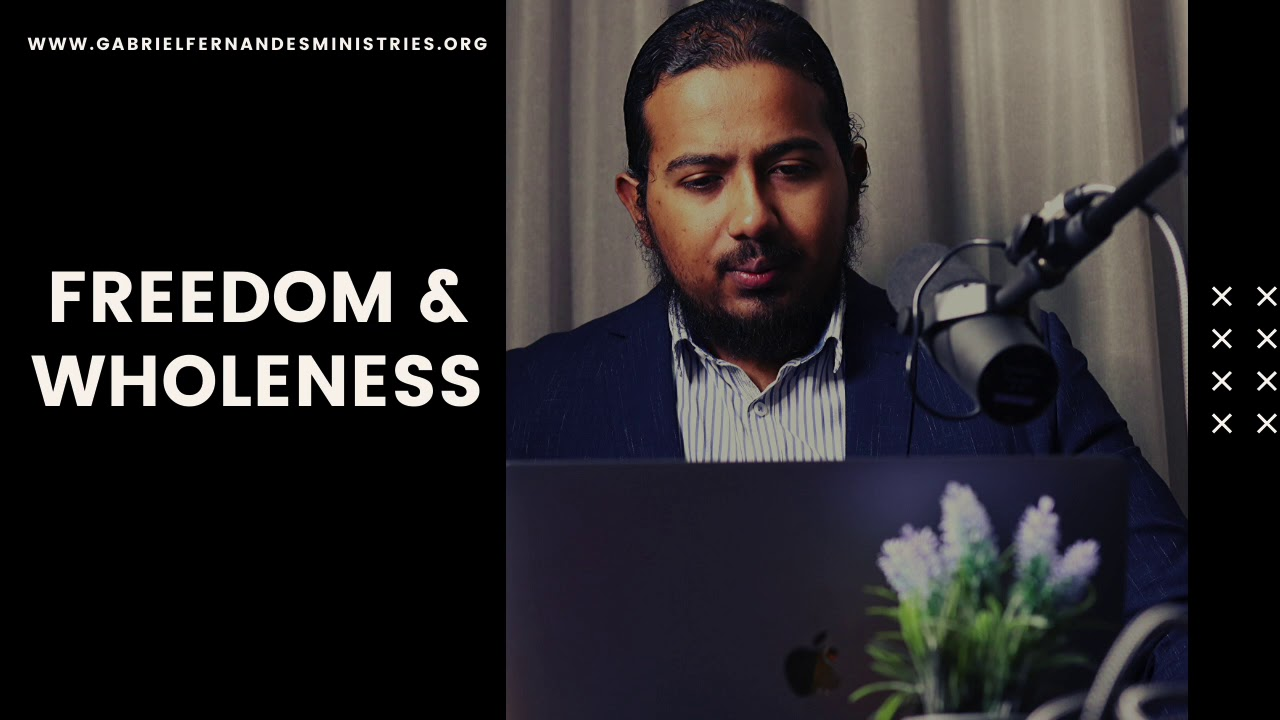 POWERFUL CONFESSIONS/AFFIRMATIONS FOR FREEDOM AND WHOLENESS - EVANGELIST GABRIEL FERNANDES