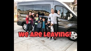 WE ARE LEAVING | saying goodbye to Sam