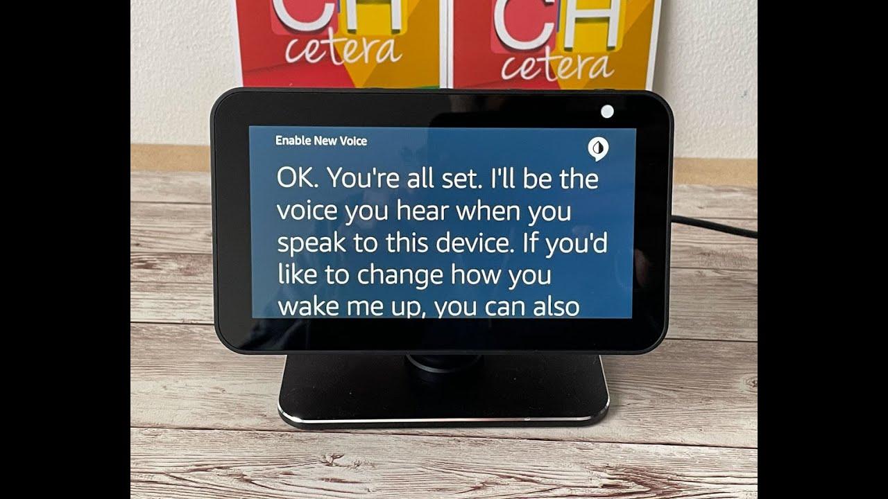 Así de fácil es es posible pedirle a Amazon Echo que cambie su voz y denominación!