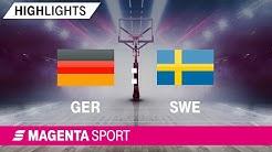 Deutschland - Schweden | Freundschaftsspiel | MAGENTA SPORT