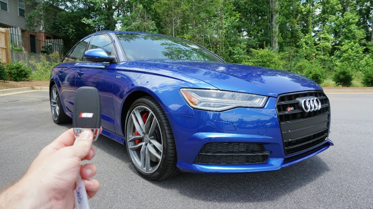 2017 Audi S6 Start Up Exhaust Walkaround And Review