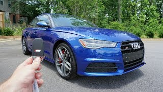 2017 Audi S6: Start Up, Exhaust, Walkaround and Review