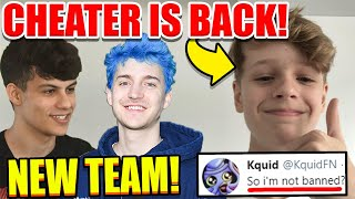 FNCS Cheater Is BACK on Fortnite..? Ninja Trio With Ronaldo! Chap NEW Trio is UNSTOPPABLE!