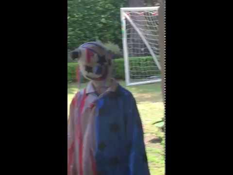 Killer Clown Sighting Gone Wrong (On Camera In Australia)