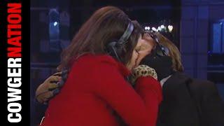 WATCH: Kimberly Guilfoyle Kisses Bob Beckel New Year's 2015