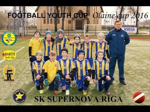 Super Nova Riga - Super Nova Sigulda 6-1 Olaine Cup 2016