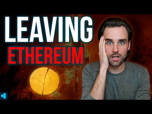 WHY PEOPLE ARE LEAVING ETHEREUM!