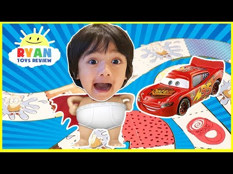 Thumbnail: CAPTAIN UNDERPANTS Family Fun Game Night for Kids! Disney Cars 3 Surprise Toys