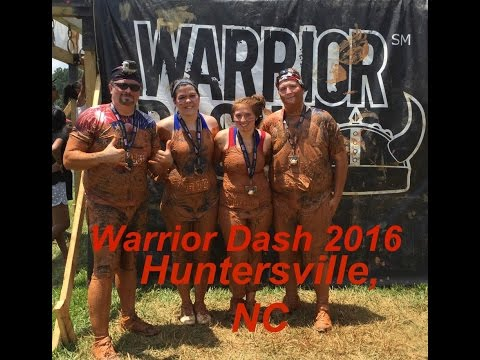 Warrior Dash 2016 Huntersville, North Carolina