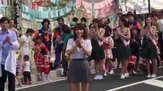 元「日本一かわいい女子高生」の永井理子ちゃんが安城市の「七夕まつり...