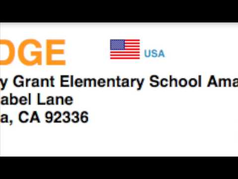 K6DGE - QSO with the Dorothy Grant Elementary School