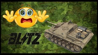 World of Tanks Blitz 1 StuG III Я не ожидал