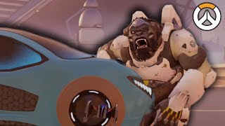 OVERWATCH ► FUNNIES, FAILS & CRAZY MOMENTS #61