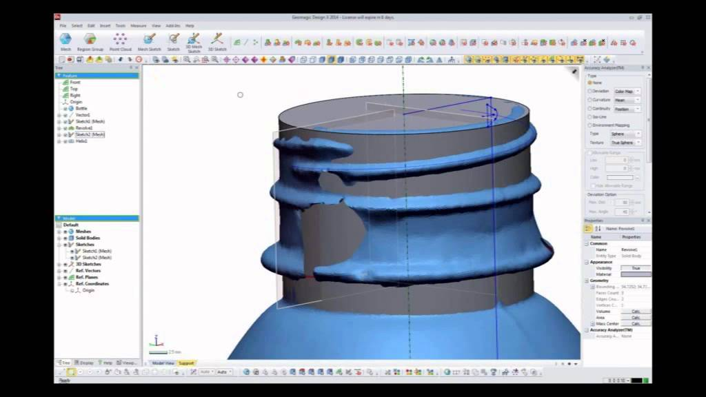 GEOMAGIC DESIGN X | DigitalScan3D