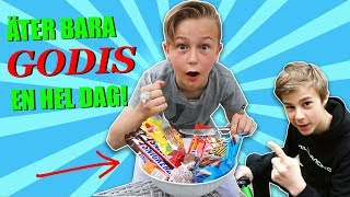 EATS NOTHING BUT CANDY FOR A FULL DAY!  |  *Give away*