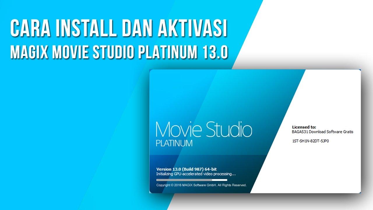 magix movie studio platinum 13 free download